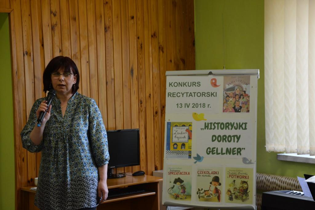 Konkurs Recytatorski Historyjki Doroty Gellner Miejska